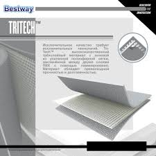 <b>Бассейн каркасный</b> прямоугольный <b>Bestway Steel</b> Pro ...
