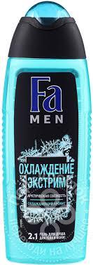 Купить <b>Гель</b> для <b>душа Fa Men</b> Охлаждение экстрим 250мл с ...