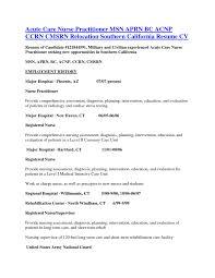practitioner resume sample rn resume objective  seangarrette copractitioner resume sample rn