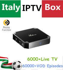 <b>Italy IPTV</b> Box Android <b>IPTV</b> Box <b>X96 MINI</b> 4K UHD + Albania ...