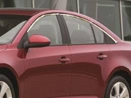 <b>Верхние молдинги стекол</b> (нерж.)для Chevrolet Cruze, 6 частей