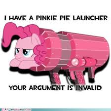 my little pony, friendship is magic, brony - your argument is ... via Relatably.com