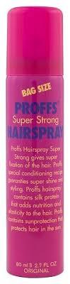 PROFFS <b>Лак</b> для волос <b>суперсильной фиксации</b> Super Strong ...