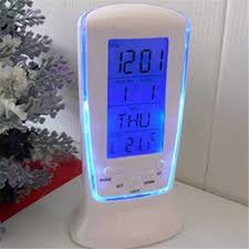 Super Cheap Multifunction LED Digital Alarm Clock with Blue ... - Vova