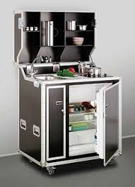 functional mini kitchens small space kitchen unit: european solutions to kitchen space dilemmas while this fold up kitchen may look like a rock stars equipment its actually a practical way to solve a
