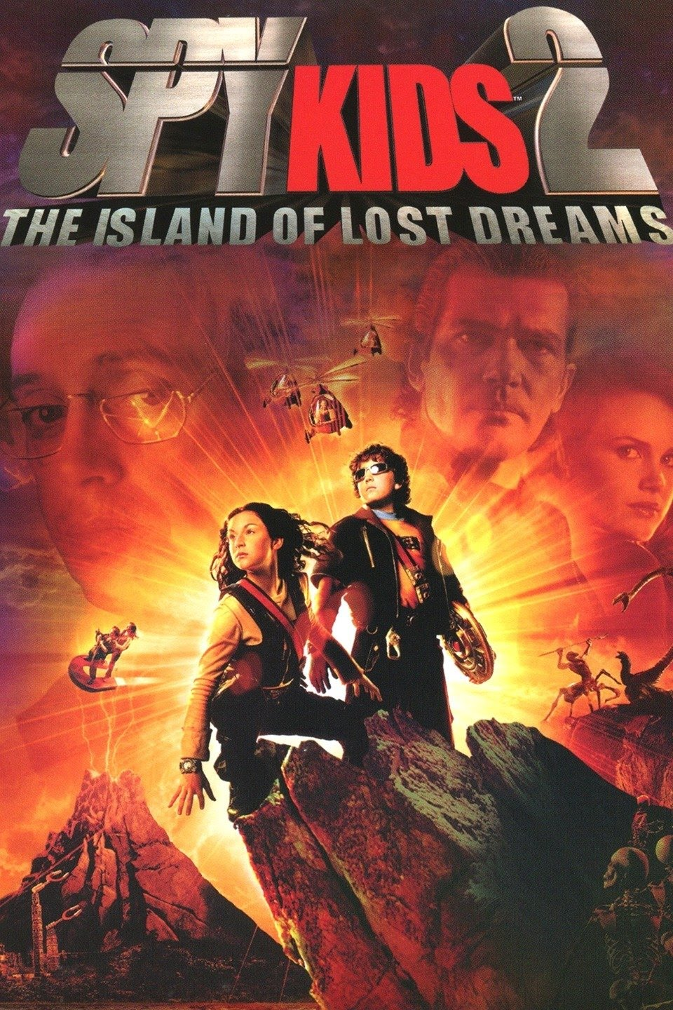 Spy Kids 2: Island of Lost Dreams (2002) Multi Audio {Hindi-English-Tamil-Telugu} 720p