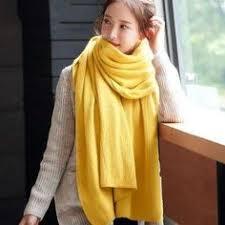 New <b>fashion Korean version</b> of the white student wool scarf winter ...