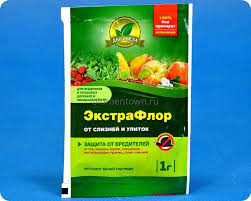 <b>Средство</b> защиты растений Экстрафлор от <b>слизней</b> и улиток 1г