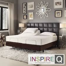 turn your bedroom in to a luxurious retreat with the toddz comfort adjustable bed base bedroomengaging office furniture overstock decorative
