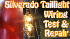 diy chevy silverado gmc sierra taillight repair how to test and diy chevy silverado gmc sierra taillight repair how to test and repair tail lamp wiring brake light