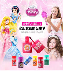 <b>Disney water soluble</b> finger color children's cosmetics make up ...