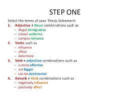 thesis statement maker ASB Th  ringen