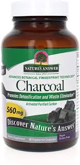 Nature's Answer Activated Charcoal Vegetarian ... - Amazon.com