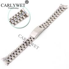 <b>CARLYWET 20mm Silver</b> Screw Solid Links Hollow Curved End ...