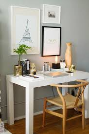 light grey walls gorgeous natural chair parsons desk gold accents eiffel tower bliss office chair black