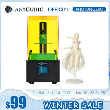 <b>Anycubic</b> 2020 <b>New Photon Zero</b> 3D Printer SLA LCD Printer Quick ...