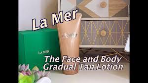<b>La Mer</b> The Face and Body <b>Gradual</b> Tan Lotion | 2019 | Skincare ...