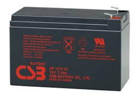 Аккумуляторная <b>батарея CSB GP 1272</b> (<b>28w</b>) (12В 7,2Ач)