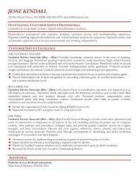 good customer service samples resume sample resumes customer service