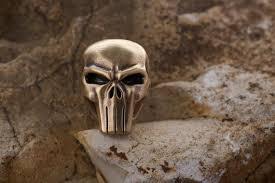 Paracord bead <b>Punisher Skull knife</b> lanyard edc   Etsy