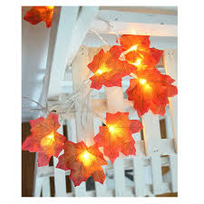Fairy String Lights 10/20/30/40 LED Maple <b>Leaves</b> Light for Home ...