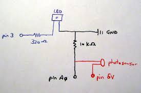 photocell light sensor wiring diagram wiring diagram light sensor circuit page 3 sensors detectors circuits next gr photocell arduino
