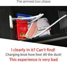 Black 2 qichebox Waterproof Leather <b>Car Storage Box Seat</b> Back ...