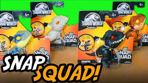 <b>Mattel Jurassic World</b> Snap Squad Unboxing & Review ...