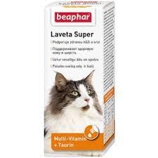 <b>Витамины Beaphar Laveta</b> super для кошек для шерсти - 50 мл