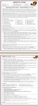 resume sample for elementary teacher sample customer service resume resume sample for elementary teacher elementary school teacher resume template monster resume samples by advanced career