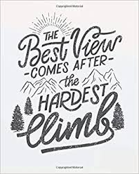 <b>The best view comes</b> after the hardest climb: Motivational quote ...