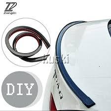 ZD Car Carbon Fiber Rear <b>Spoiler</b> Wing Stickers <b>for BMW</b> e46 <b>e39</b> ...