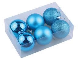 <b>Набор шаров Золотая сказка</b> 6шт 8см Turquoise 590879 - Чижик