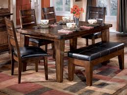 Dining Room Table With Benches Dining Stylish Walmart Dining Table And Bench Dining Room Table