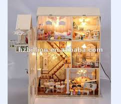 wooden doll house kids furniture brand baby wooden doll house
