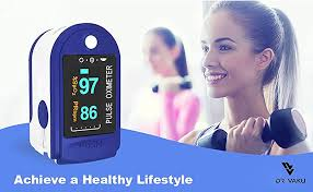 DR VAKU® Swadesi <b>Finger</b> Tip Pulse <b>Oximeter</b>, Multipurpose <b>Digital</b>...