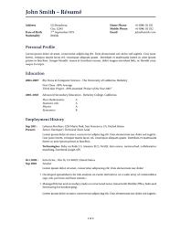 latex templates » curricula vitae résuméswilson resume cv