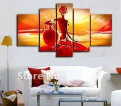 free shipping oil painting canvas nude figure abstract high quality handmade home decoration office wall art decor artwork gift artwork for office walls