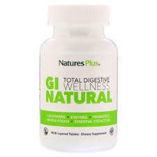 Nature's Plus GI Natural <b>Total Digestive Wellness</b> - 90 Bi-Layered ...