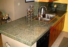diy tile kitchen countertops: finished granite tile countertop install granite tile countertop  finished granite tile countertop