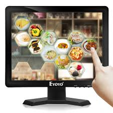 <b>Eyoyo 15 Inch</b> 1024*768 IPS TV <b>Monitor</b> Computer LCD <b>Screen</b> TV ...