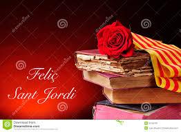 Resultado de imagem para Dia de St Jordi na Espanha