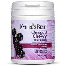 <b>Chewable</b> Omega 3 For Kids | Nature's Best