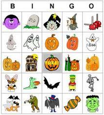 Bingo on Pinterest Pinterest Free Halloween Bingo Cards Perfect for the Classroom or at Home  DLTK     s Custom Halloween Bingo