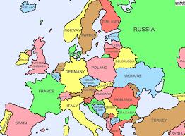 """Résultat de recherche d'images pour """"la carte d'europe"""""""