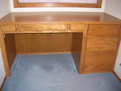 desk wood plans built office furniture plans