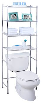 glacier shelf chrome bathroom cabinets