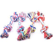 <b>1PCS</b> Small <b>Dog Toys</b> Braided Knot Ball <b>Pet Dog Toys</b> Bone Chew ...