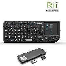 <b>Rii Mini X1</b> 2.4G Wireless Mini Keyboard with Touchpad for PC ...
