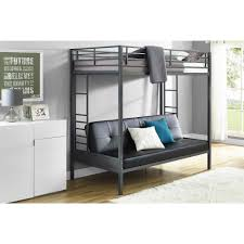 Loft Bed With Sofa Mattresses Twin Over Full Futon Bunk Bed With Mattress Twin Over
